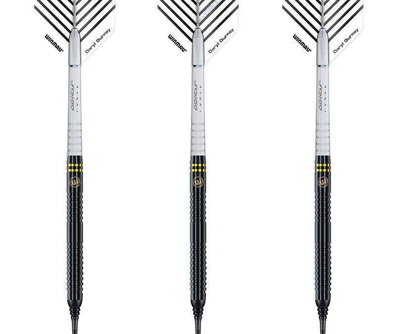 Winmau Soft Darts Daryl Gurney Black Special Edition 90% Tungsten  22 g