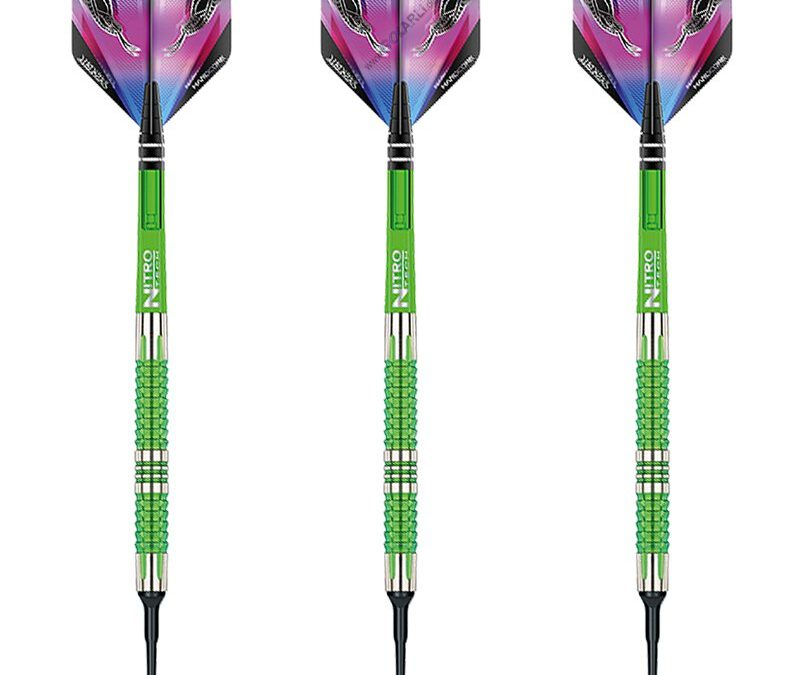 Red Dragon Soft Darts Peter Wright Snakebite Mamba 2 Softtip Dart Softdart 20 g