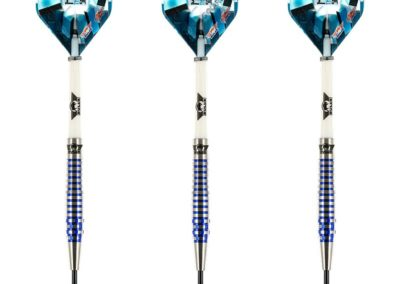 Bull´s powered by Shot Darts Martin Schindler The Wall 80% PCT Color Blue Steeltip Darts